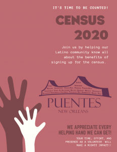 Latino Census flyer