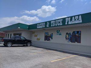 Truck-stop casino in Port Allen, La.
