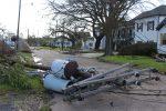 Lake Charles after Hurricane Laura