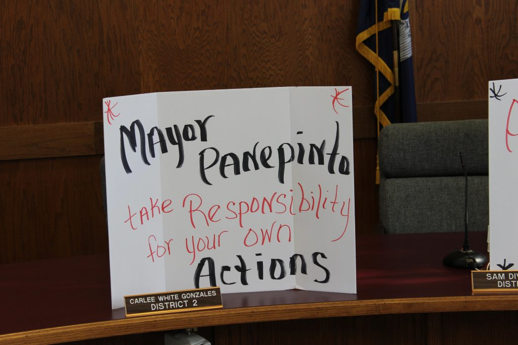 Hammond residents want police chief removed