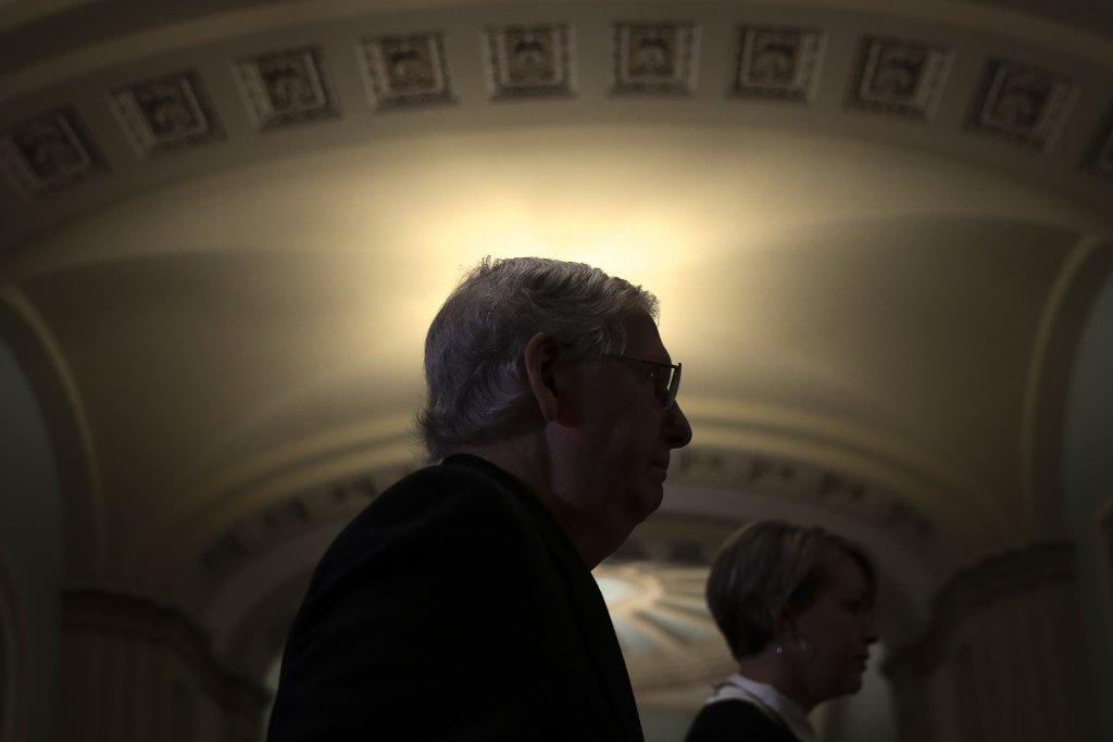 Republican senators gathering the votes to proceed with U.S. Supreme Court nomination