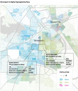 Shreveport disparities