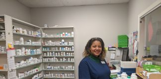 Charlotte Bertrand, of St. Francisville Pharmacy, believes she will give out 100 doses of the COVID-19 vaccine by the end of the week.