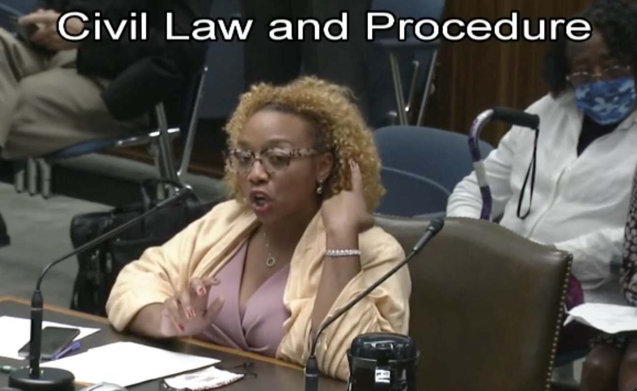 Black lawmaker wearing her hair natural fights for right of all Black women to do the same