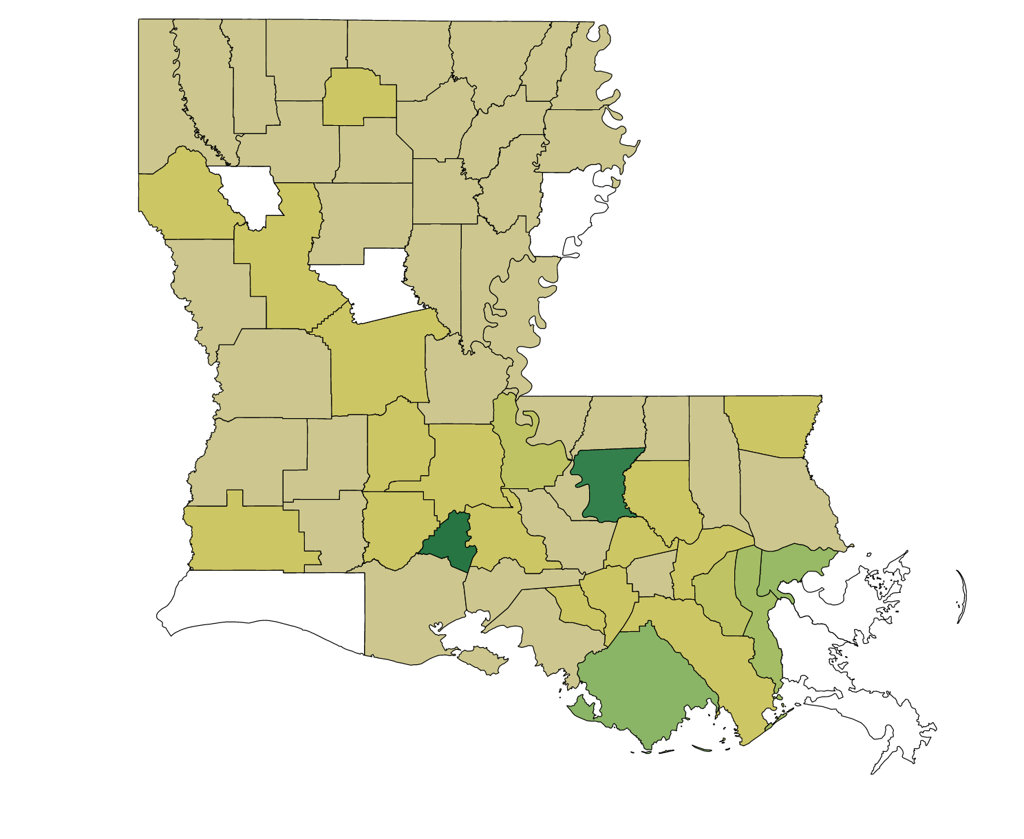 Louisiana legislative leaders send over half of $85 million in 'pet projects' to their own parishes