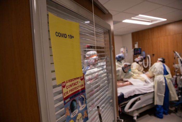 Virus reaches new record of hospitalizations in Louisiana