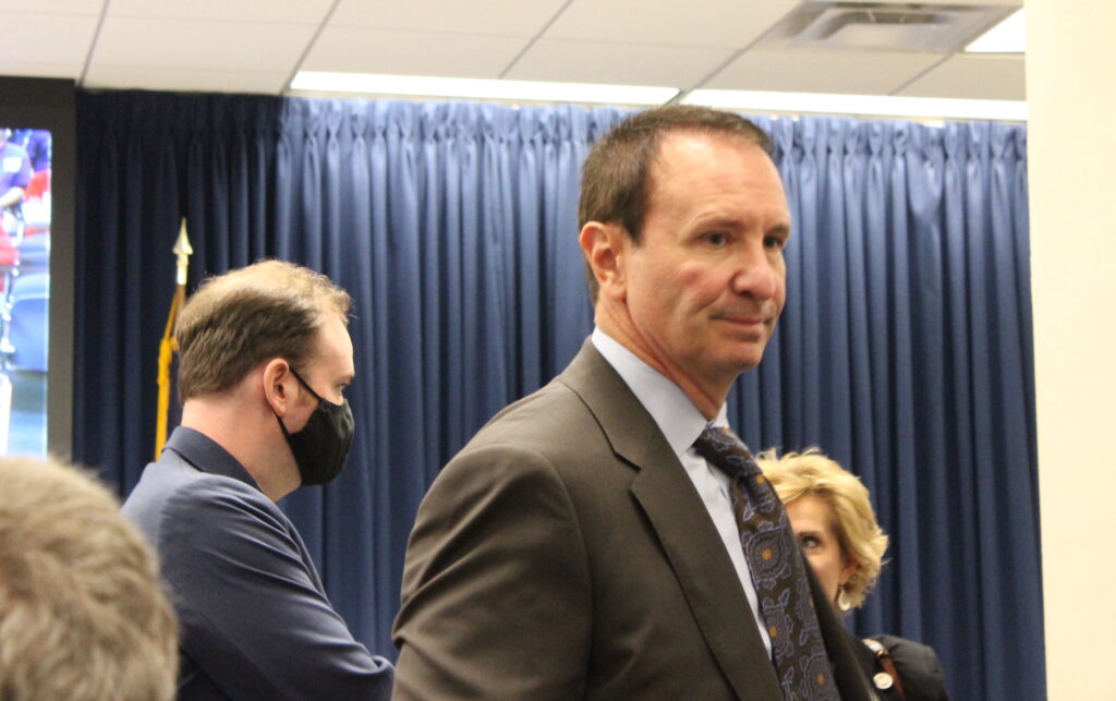 AG Landry back out of medical college vaccine lawsuit