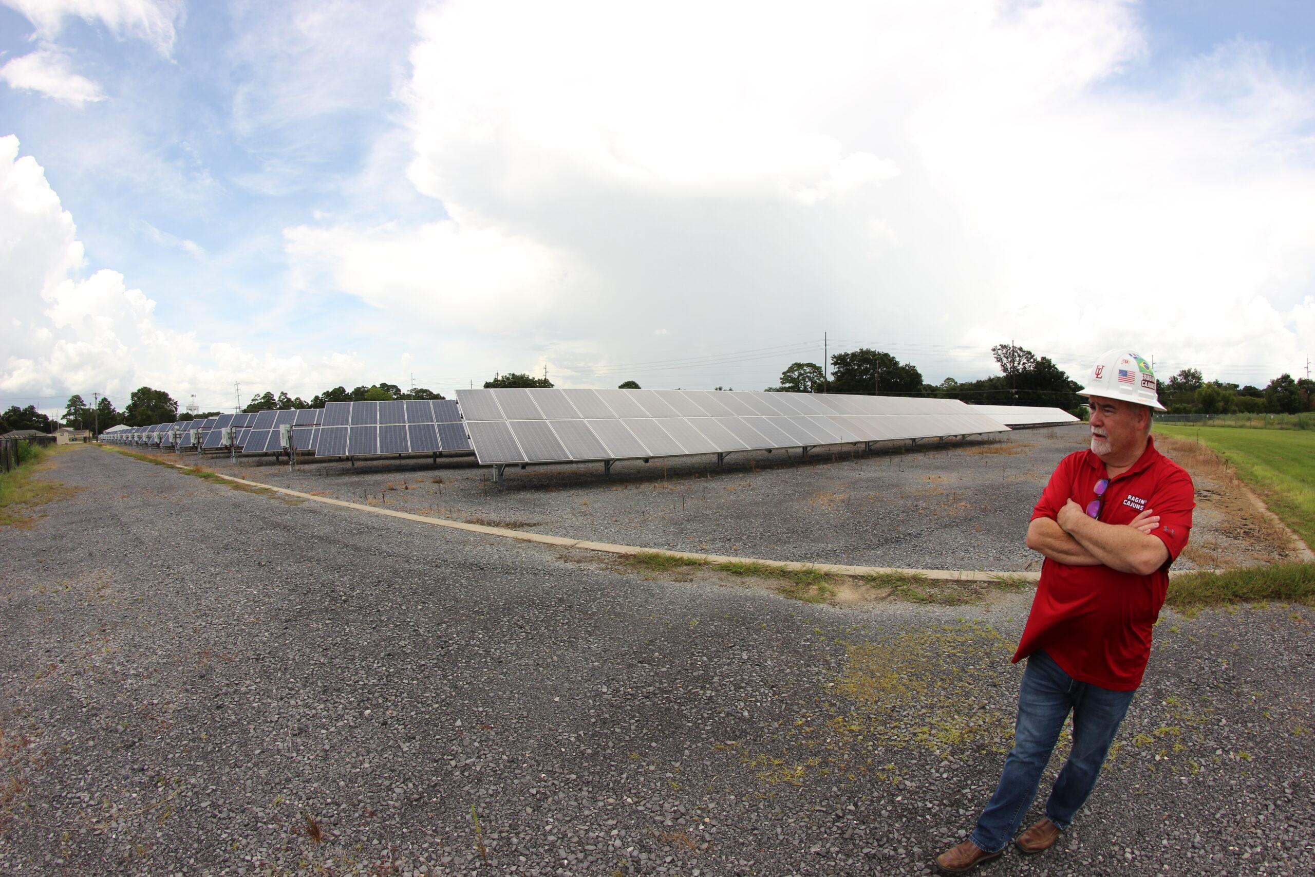 University of Louisiana at Lafayette studies solar farming despite pushback to renewable energy